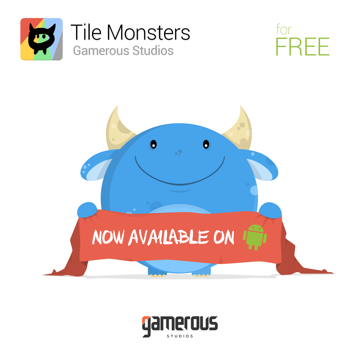Tile Monsters available on Google Play